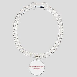 Im-not-like-most-guys-bod-burg Bracelet