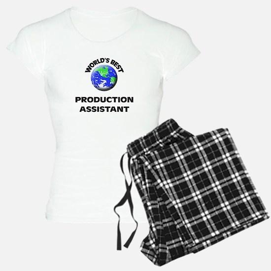 World's Best Production Assistant Pajamas
