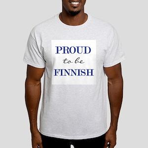 Finnish Pride Ash Grey T-Shirt