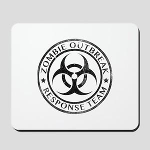 Zombie Outbreak Response Team Mousepad
