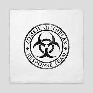 Zombie Outbreak Response Team Queen Duvet