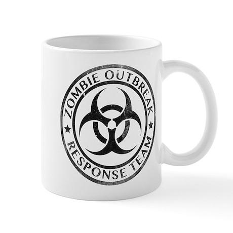 biohazard mugs cafepress Radioactive Symbol Zombie