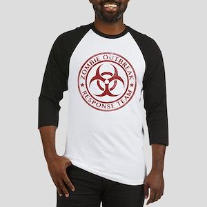 Zombie Outbreak Response Team Baseball Jersey