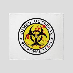 Zombie Outbreak Response Team Stadium Blanket