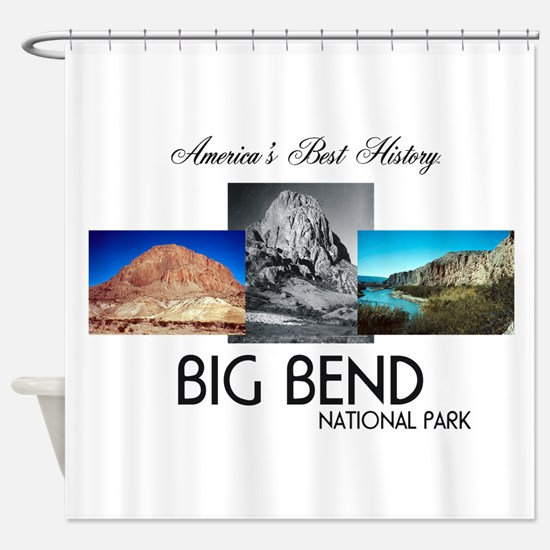ABH Big Bend Shower Curtain