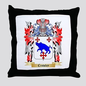Crowley Throw Pillow