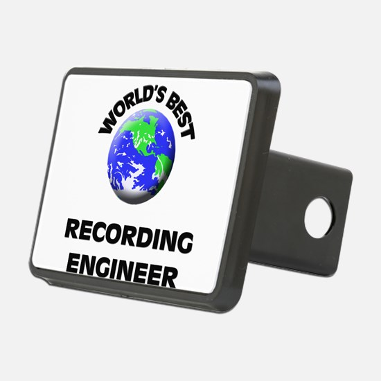 World's Best Recording Engineer Hitch Cover