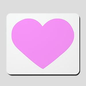 heart-pink Mousepad