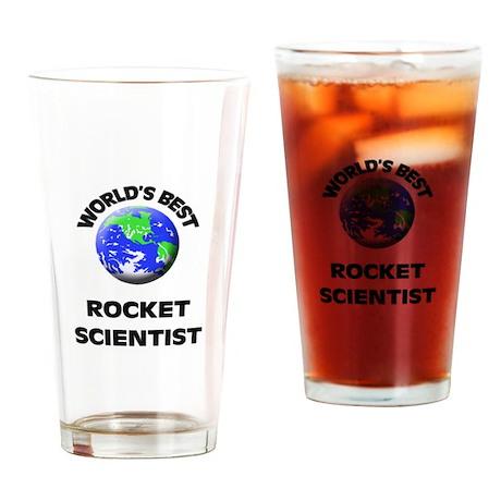 World's Best Rocket Scientist Drinking Glass