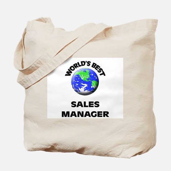 World's Best Sales Manager Tote Bag