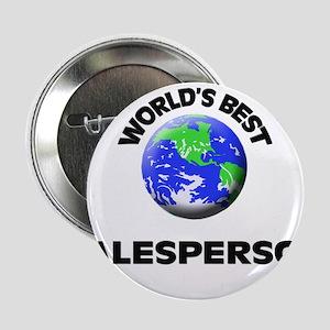 """World's Best Salesperson 2.25"""" Button"""