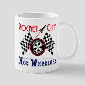 Rocket City Hot Wheelers Mug