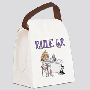 RULE 62 Canvas Lunch Bag