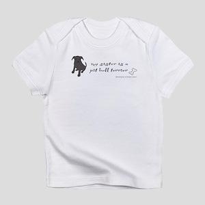 pit bull terrier Infant T-Shirt