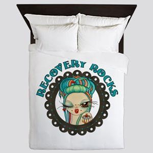 Recovery Rocks~2000x2000 Queen Duvet