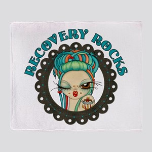 Recovery Rocks~2000x2000 Throw Blanket