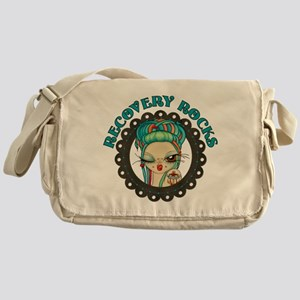 Recovery Rocks~2000x2000 Messenger Bag