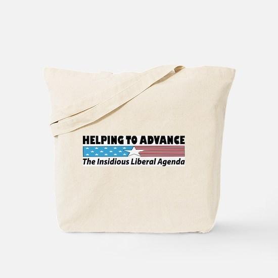 Liberal Agenda Tote Bag