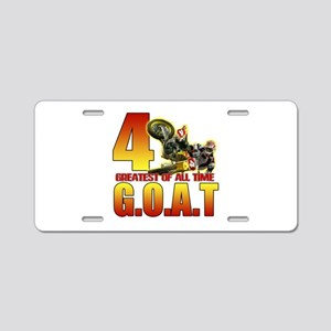 The Goat Aluminum License Plate