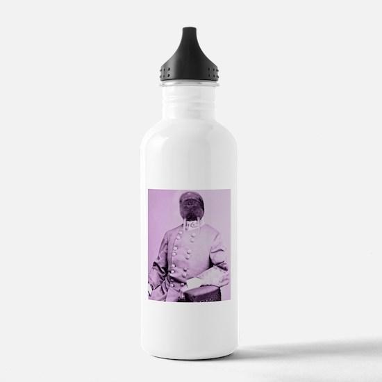Walrus soldier Water Bottle