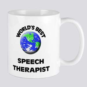 World's Best Speech Therapist Mug