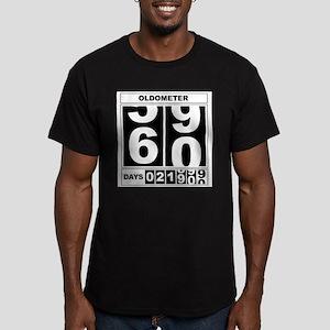 60th Birthday Oldometer T-Shirt