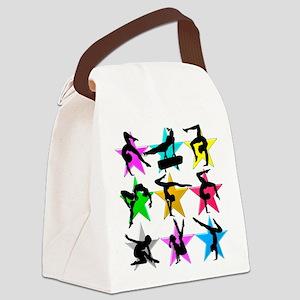 SUPER STAR GYMNAST Canvas Lunch Bag