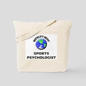 World's Best Sports Psychologist Tote Bag