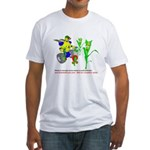 Farm Robot Fitted T-Shirt