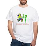 Farm Robot White T-Shirt