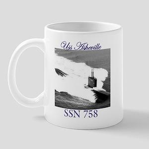 Uss Asheville ssn 758 Mug