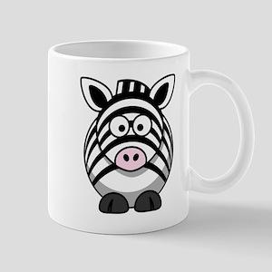 Cartoon Zebra Mug