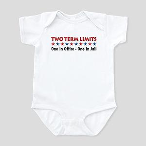 Two Terms Limits Infant Bodysuit