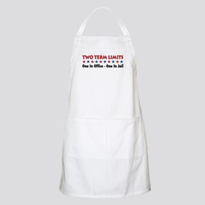 Two Terms Limits BBQ Apron