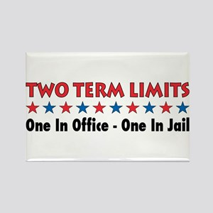 Two Terms Limits Rectangle Magnet