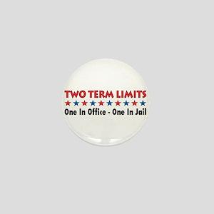 Two Terms Limits Mini Button