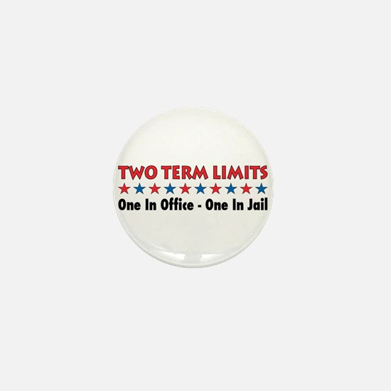 Two Terms Limits Mini Button