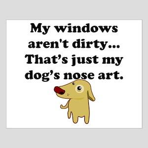Dog Nose Art Poster Design