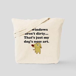 Dog Nose Art Tote Bag