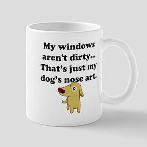Dog Nose Art Small Mug
