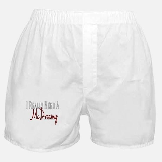 Need A McDreamy Boxer Shorts