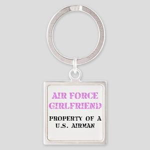 Air Force Girlfriend Keychains