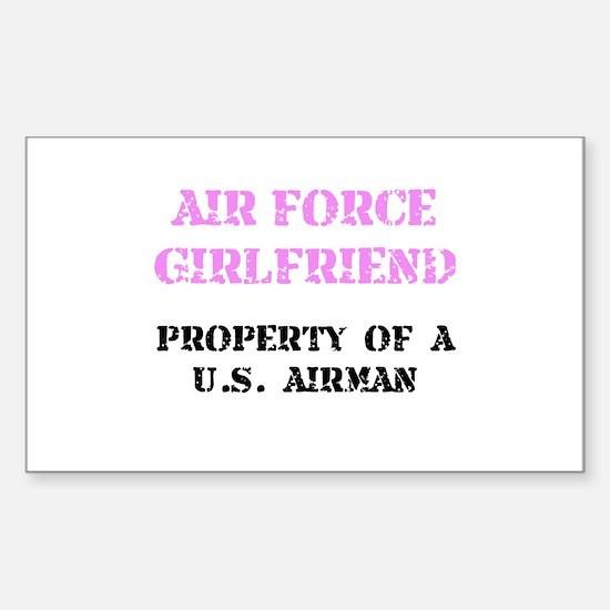 Air Force Girlfriend Decal