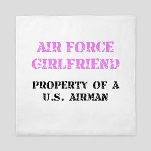 Air Force Girlfriend Queen Duvet