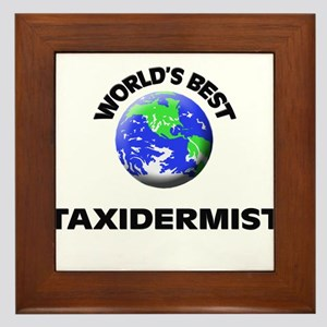 World's Best Taxidermist Framed Tile