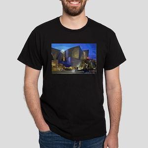 L A Streets Scene Concert Hall T-Shirt