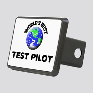 World's Best Test Pilot Hitch Cover