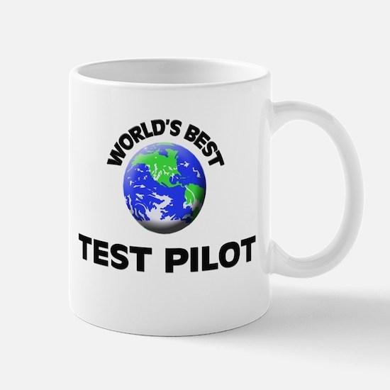 World's Best Test Pilot Mug
