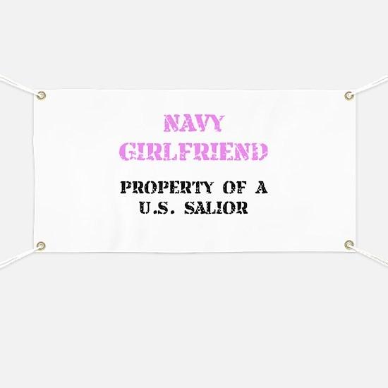 Navy Girlfriend Banner