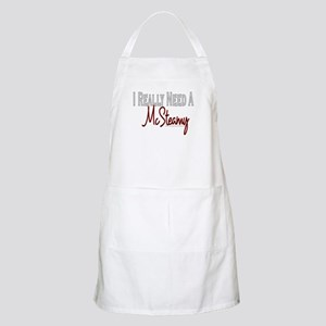 Need A McSteamy BBQ Apron